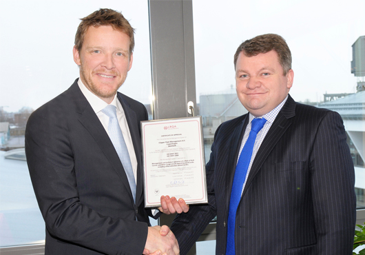 Denmark: Clipper Vessels Certified to ISO 50001 by Lloyd's Register