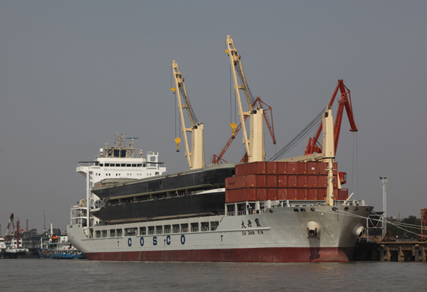 Chinese race up the breakbulk ranks