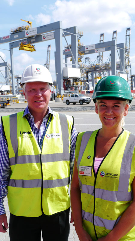 50 new jobs announced at DP World London Gateway port