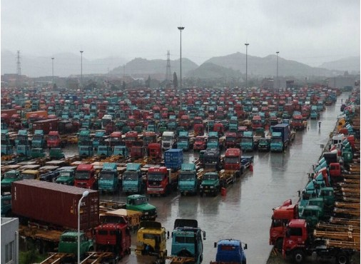 UPDATE: Ningbo Port Dealing with Container Backlog
