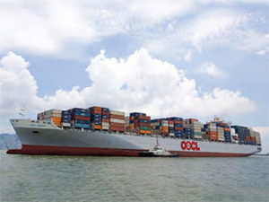 OOCL to launch a joint service commencing from Shanghai
