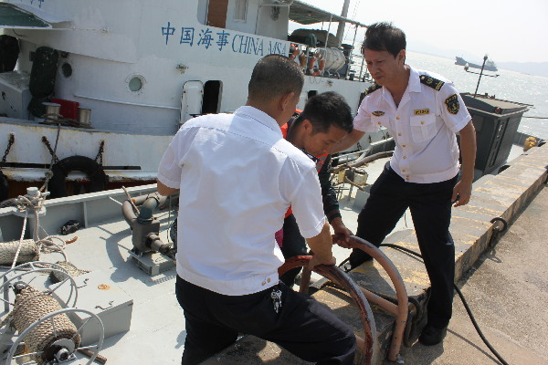 12 crew members were rescued successfully