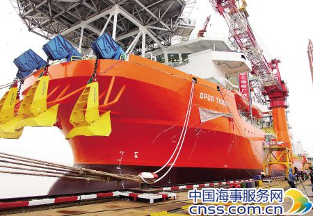 China completes its first deep-sea drillship