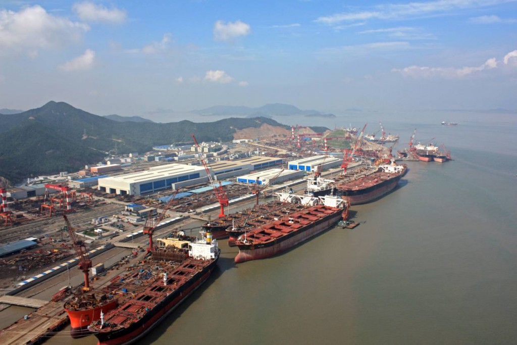 COSCO Zhoushan Delivers Two Bulkers