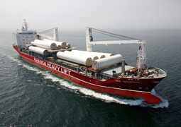 Hansa Heavy Lift expands presence in China