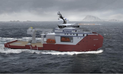 Vard wins contract for Diving Support Vessel from Kreuz Subsea
