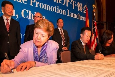 Ports of Los Angeles, Auckland, Guangzhou form alliance