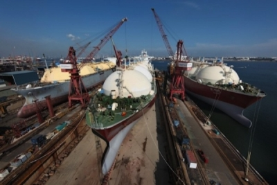 Keppel contracts third FLNG conversion with Golar LNG
