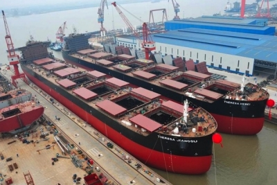 Troubled Sainty Marine seeks buyer for four new 64,000 dwt bulkers