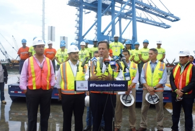 Panama's President lauds Manzanillo International Terminal expansion