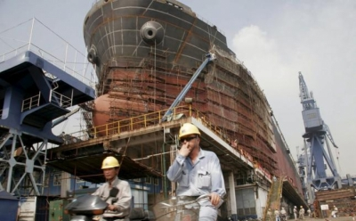 China Ocean Shipbuilding H1 loss widens to $36m