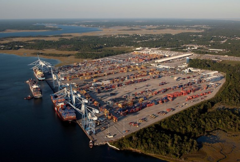 Charleston on way to becoming deepest port on US east coast