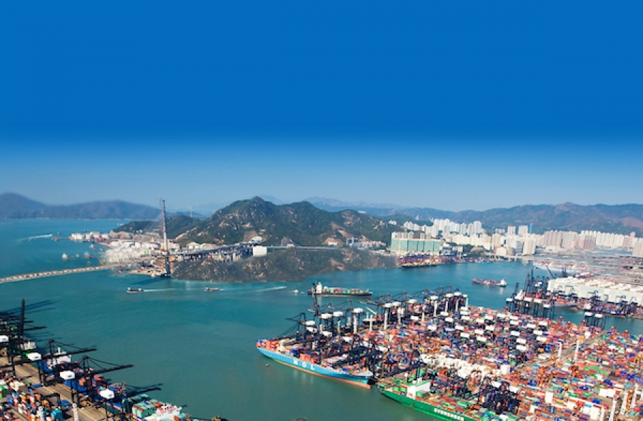 Hong Kong port August container volumes down 9.8%