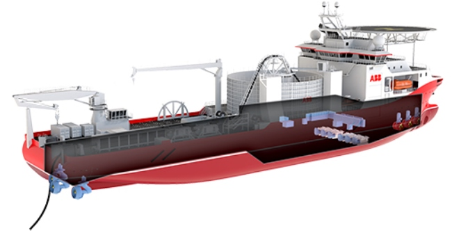 World's Most Advanced Cable-Laying Vessel Ordered By ABB