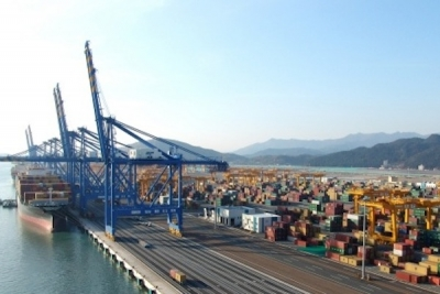Busan moves higher container volumes in August