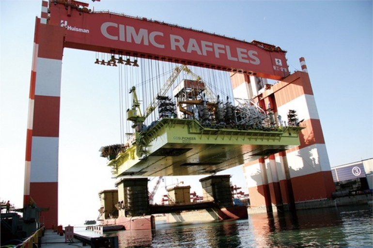 Coastal Contracts goes to arbitration to settle dispute with CIMC Raffles Offshore