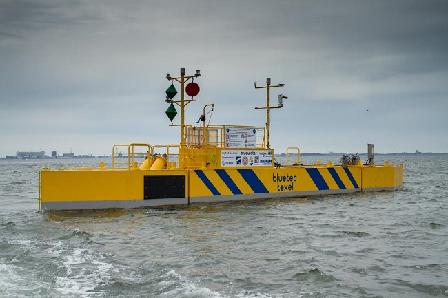 BlueTEC's Floating Tidal Energy Platform Proven Successful
