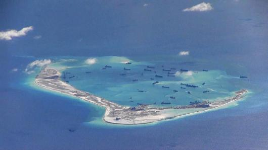 China's island-building sours US-Asia defense talks