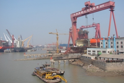 Taizhou Kouan Shipbuilding inks order for four boxships