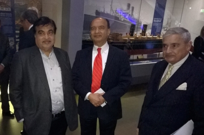 Indian Shipping Minister unveils maritime plans during London visit