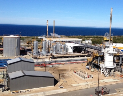 Portugal-based refinery produces fuel from slops