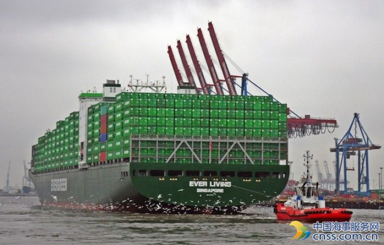 Evergreen orders another 10 small boxships