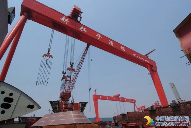 Yangzijiang Shipbuilding taps into financial leasing market
