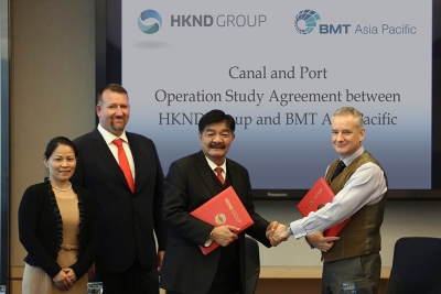BMT bags contract to plan Nicaragua Canal route