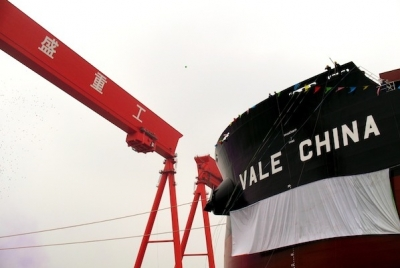 Vale sells four VLOCs to ICBC Financial Leasing