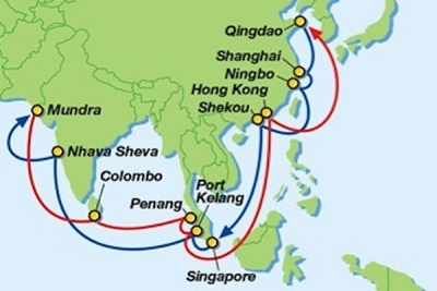 Wan Hai, MOL, Interasia Lines and PIL jointly launch new China-India network