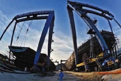 New orders at Chinese shipyards rebound in first quarter