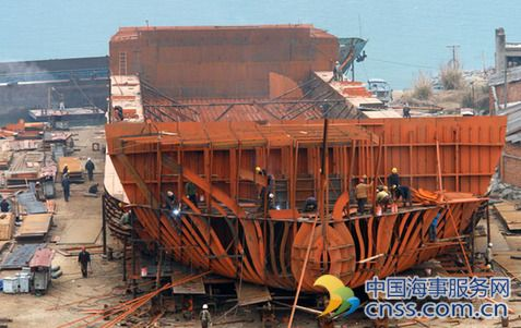 Orders surge for Chinese shipyards