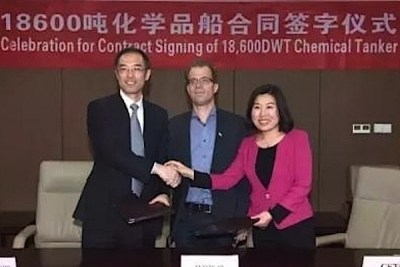 Chengxi Shipyard lands first ever order for chemical tankers
