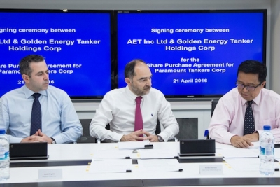 AET buys out Restis' stake in Paramount Tankers