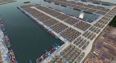 Construction starts on Singapore's Tuas Terminal