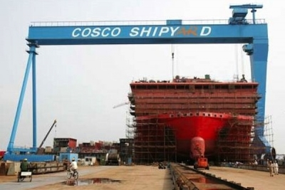 Cosco shipyard wins deal to build two oil tankers