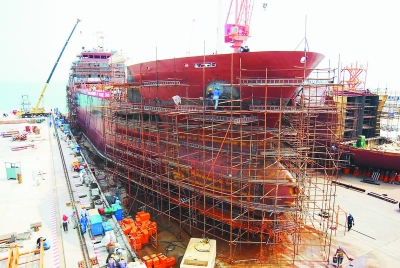 China shipyards continue to see new orders rise in first four months