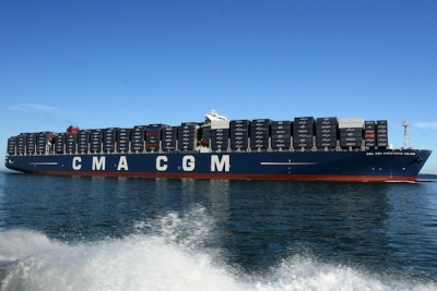 CMA CGM sinks to $100m loss in first quarter