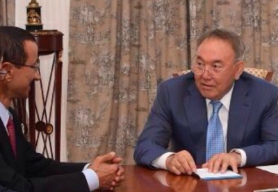 New Silk Road riches secures DP World an audience with Kazakhstan President