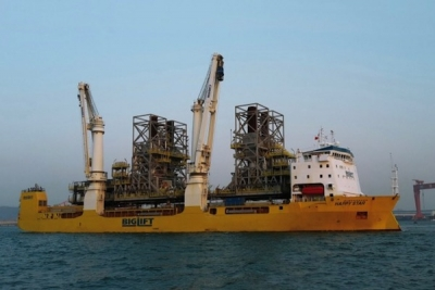 BigLift books one heavy lift vessel at Ouhua Shipbuilding