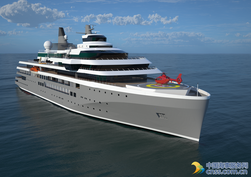 Damen Unveils New Expedition Cruise Vessel Design