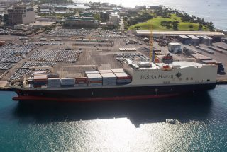 Pasha Hawaii Unveils Order for Two LNG-Fueled Boxships