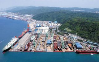 LPG Carrier Quartet Postponed at Hyundai Mipo