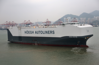 Sixth PCTC Joins Höegh Autoliners' Fleet