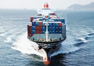 Hanjin Containership on Auction in Singapore