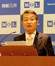 MOL CEO Ikeda's 2017 New Year Message – Shaping a New Future