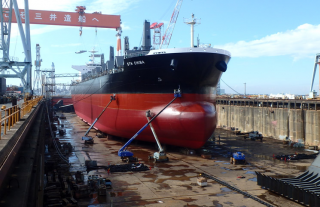 MES Hands Over Bulker to Sea Trade Holdings