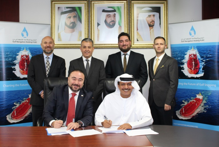 Gulf Navigation Holding and Polimar Turkish Holding Establishing a Partnership in the field of Maritime Agencies, shippi