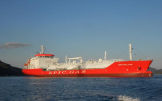 Epic Gas Adds Sixth Newbuilding LPG Carrier to Fleet
