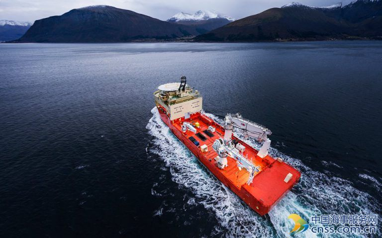 Spotted: Ulstein Delivers Its Largest Offshore Construction Vessel